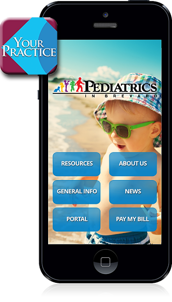 Pediatrics in Brevard mobile app